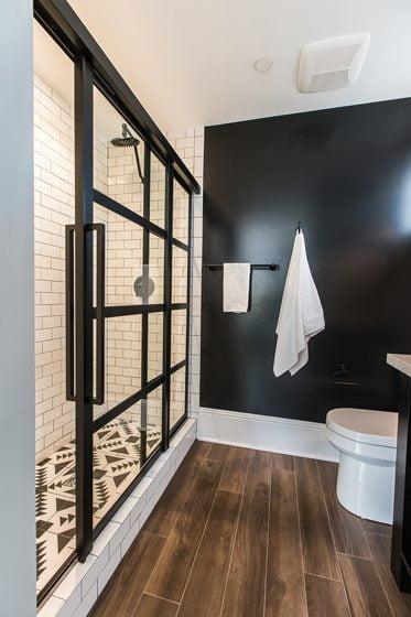 Gridscape2 Soft-Close shower door by Coastal Shower Doors.