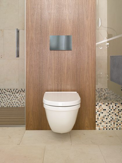Geberit's streamlined Sigma70 flush plate.