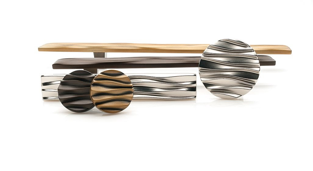 Du Verre Hardware's WAVE collection.