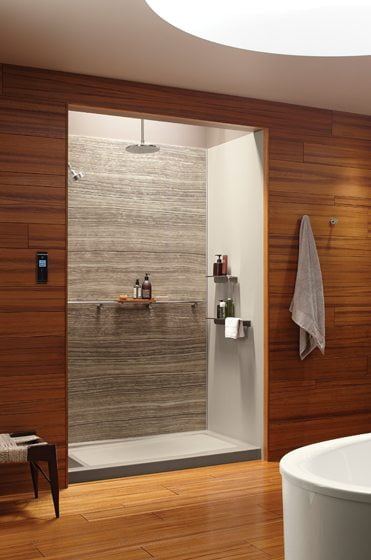 Kohler's customizable Choreograph Shower Wall and Accessory Collection.