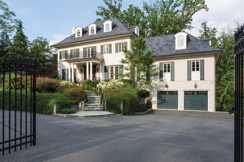 This Foxhall Road residence will host the show house.