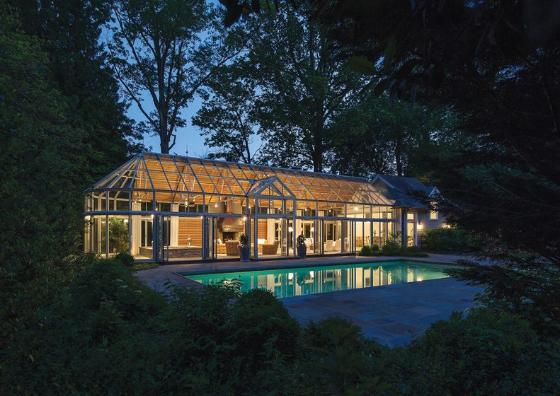 AWARD OF EXCELLENCE:  Barnes Vanze Architects Inc., Leisure Dome, Chevy Chase, Maryland. © Anice Hoachlander.