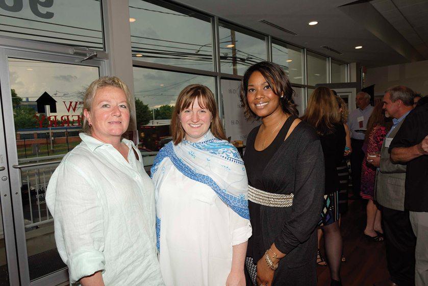 Gretchen Everett, Tara Lowe, Nkili Sudah.