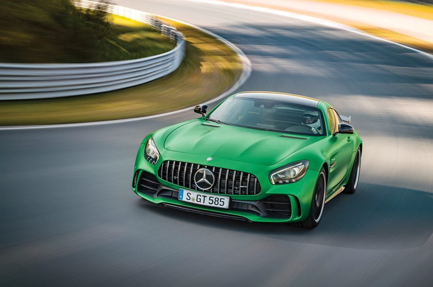 Mercedes Benz's 2018 AMG GT R, available mid-2017.
