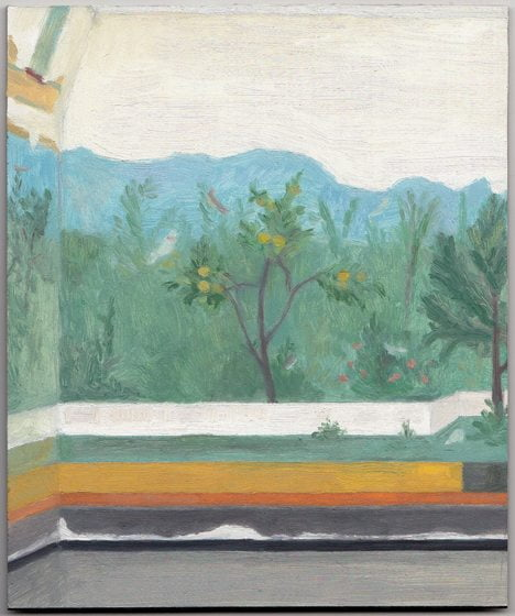 A work by Eleanor Ray at C. Grimaldis.