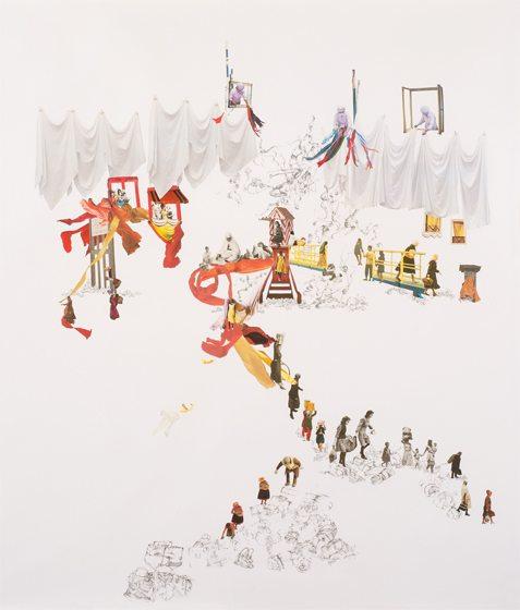 A piece by Rachel Farbiarz at G Fine Art.