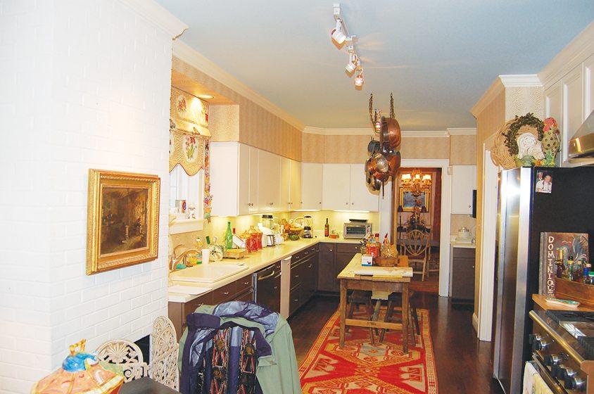 BEFORE: The original galley kitchen.