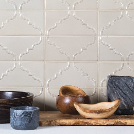 Country Floors' Perla Glossy decorative tile.