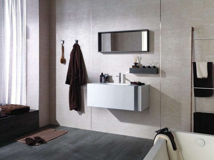The Leaf Vanity from Porcelanosa.