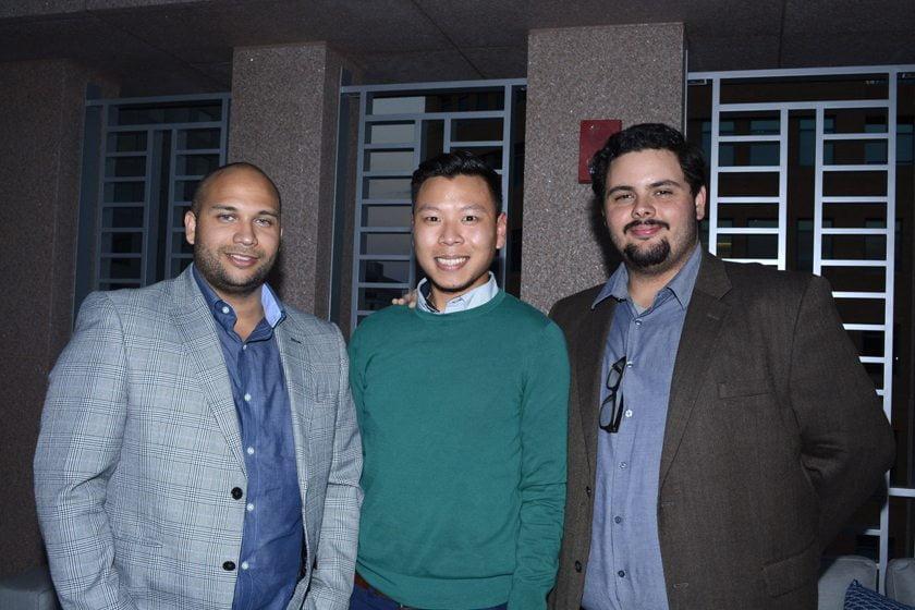 Mike Gordon, Markus Hongmanivanh, Ed Wilczynski.