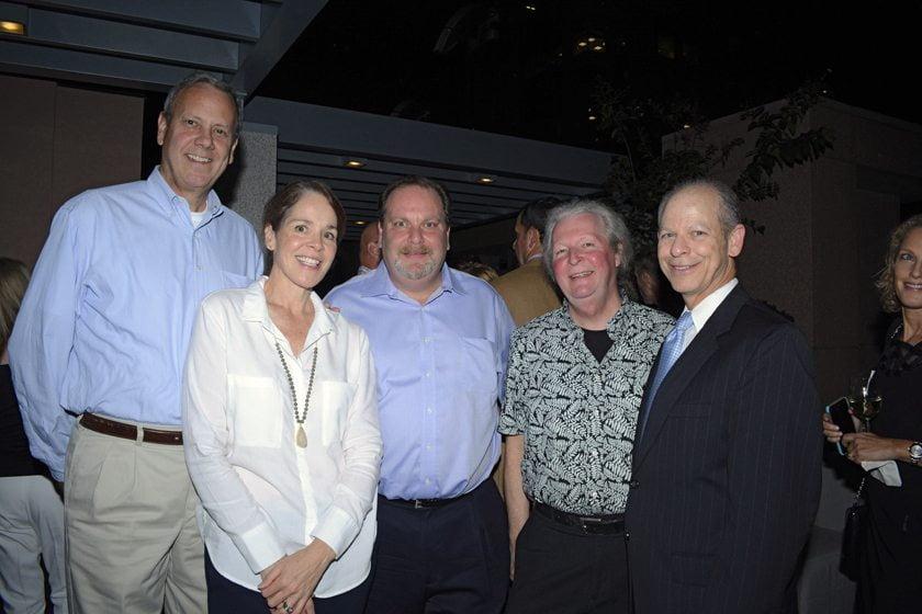 Gary Witts, Ellen Witts, Bob Blanchard, Tom Tozzini, Larry Rosen.