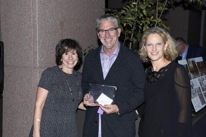 Julie Sanders, John Seward of Favorite Lighting Dealer Illuminations, Sharon Jaffe Dan.