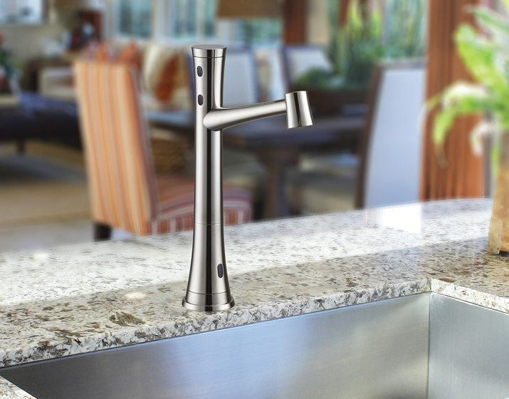 13. The K2005 touch-free swivel faucet by Cinaton.