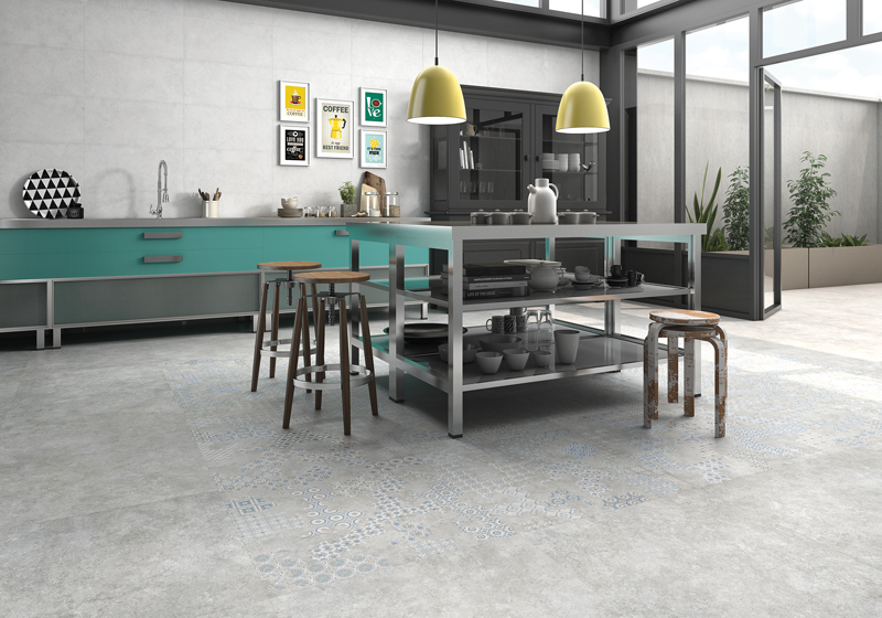 1. Geotiles' Cover collection, pictured in the Acero hue.