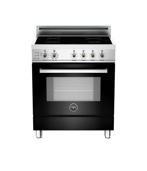 3. Bertazzoni's 30 4-Induction Zones, Electric Self-Clean oven.