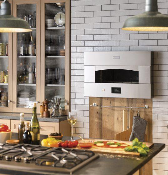 2. GE Monogram's pizza oven.