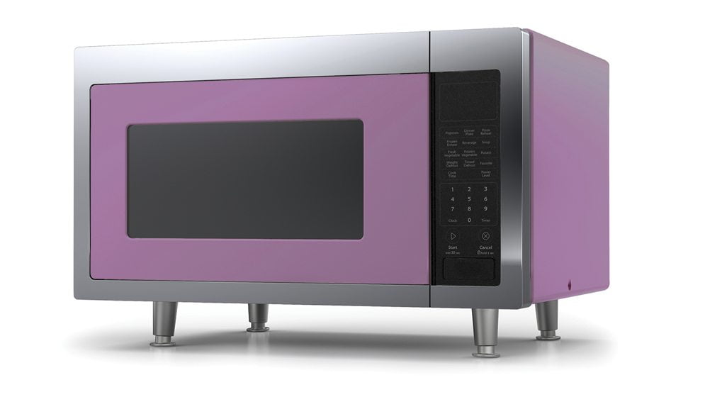 10. Big Chill's Retro Microwave.