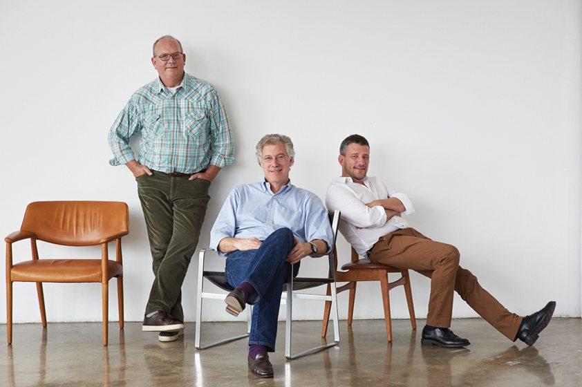Co-authors John Ike, Thomas A. Kligerman and Joel Barkley. © William Waldron