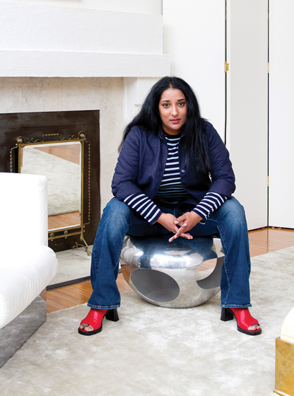 Interior designer Raji Radhakrishnan, an art aficionado, named her rugs after famous museums.