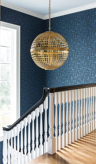9. Back Stairs, by Eve Fay, Farrow & Ball.