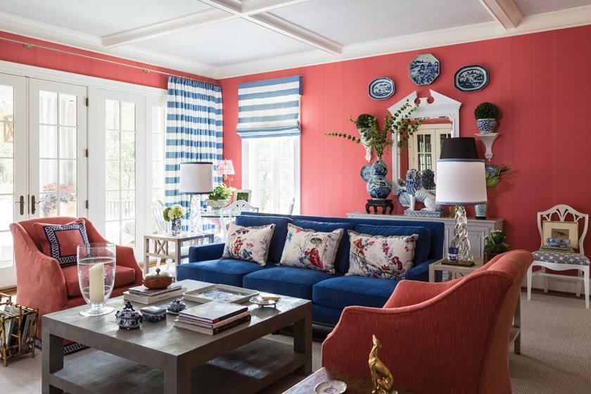 8. Family Room, by Kelley Proxmire, Kelley Interior Design.