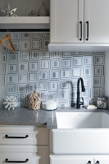 20. Laundry Room, by Allie Mann, Case Design/Remodeling, Inc.