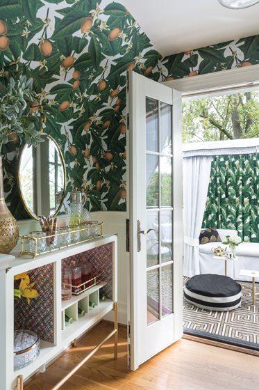 12. Cabana/Roof Deck, by Quintece Hill-Mattauszek, Studio Q Designs.