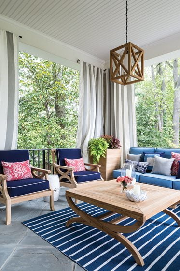 11. Terrace, by Kimberly Asner, Country Casual Teak.
