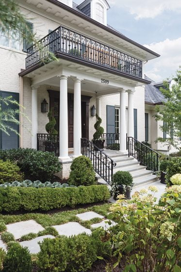 3. Front Garden/Porch, by D. Blake Dunlevy and Gina Palmer, D & A Dunlevy Landscapers, Inc.