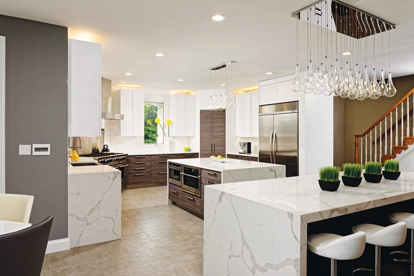 Dream Kitchens Modern dream kitchens: light + bright - home & design magazine