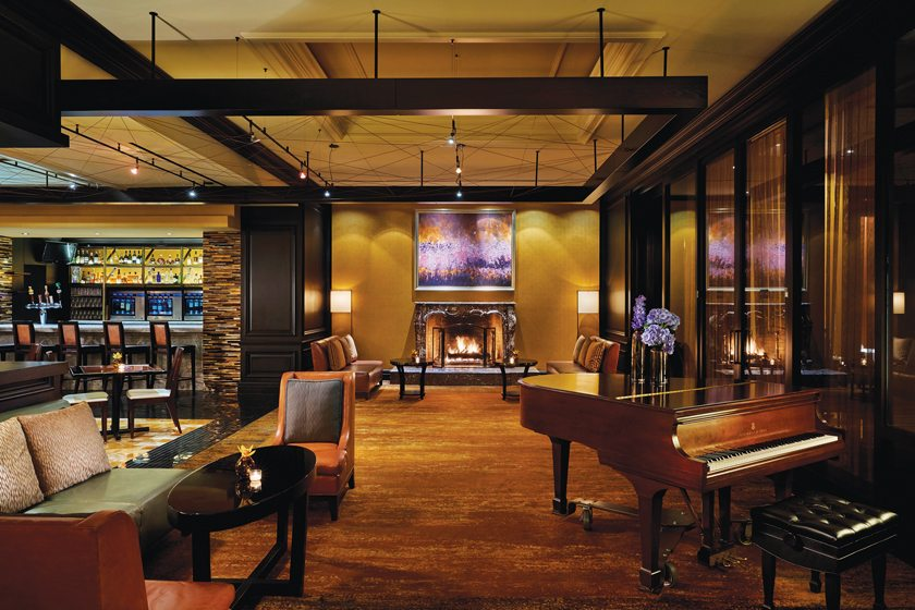 The Ritz-Carlton's Entyse Wine Bar & Lounge in Tyson's Corner.