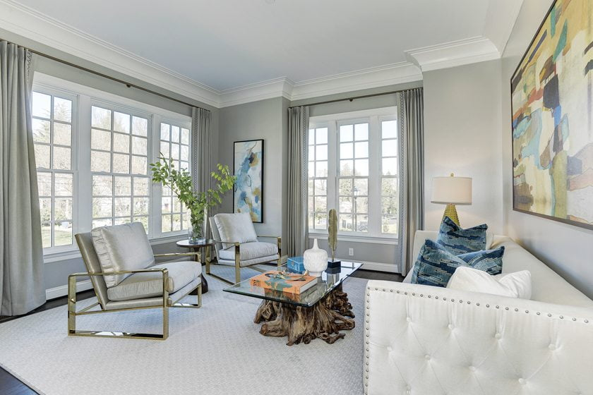 Design and Architecture, Detached Home (lots 7,000 square feet and over), over $1,400,000:  Pembrook at Bethesda Mews, Bethesda, Maryland; Michael Harris Homes, Lessard Design.