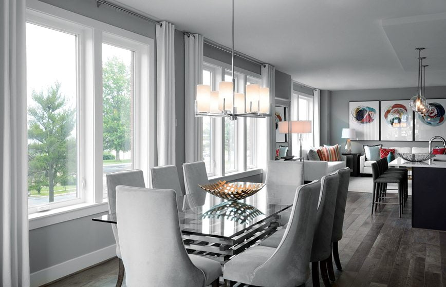 Design and Architecture, Attached Home, including Townhouses, Two-over-Twos, Back-to-Back Townhouses, Duplexes, Fee Simple and Condo-Ownership, $700,001 - $850,000:  Davis at Westside at Shady Grove Metro, Rockville, Maryland; EYA, Lessard Design. © Thomas Arledge.