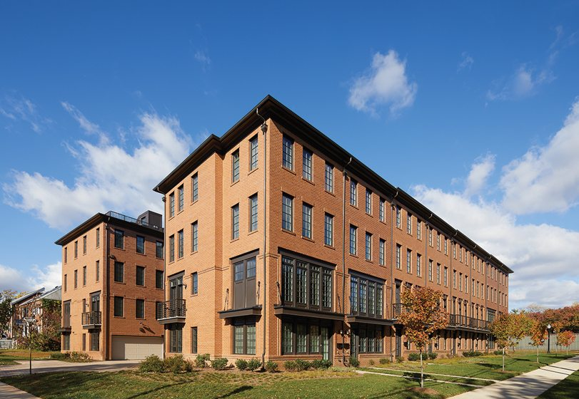 Design and Architecture, Multi-Family Boutique Construction (tie): The Crossing at Ballston, Arlington, Virginia; HJL Properties, W.C. Ralston Architects. ©  Anice Hoachlander.
