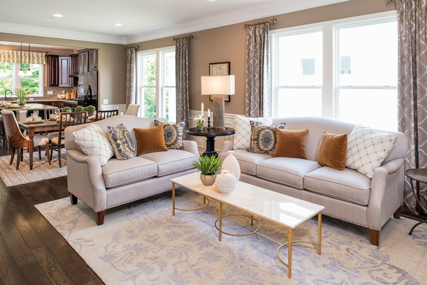 Design and Architecture, Detached Home (lots under 7,000 square feet), $300,000 - $400,000:  Passport at Celebrate, Fredericksburg, Virginia; Pulte Homes. © Maxine Schnitzer.