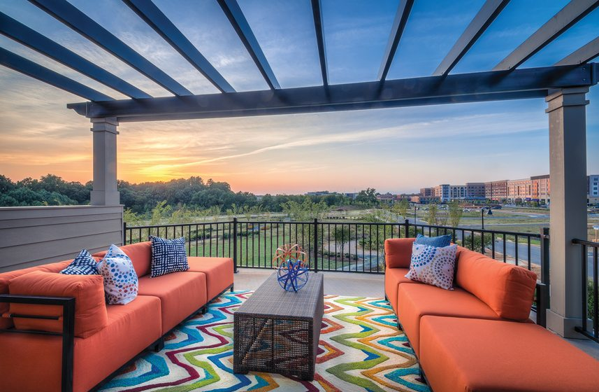 Design and Architecture, Detached Home (lots under 7,000 square feet), over $850,000:  Regency Park at Crown, Gaithersburg, Maryland; Wormald Homes. © Adam Leviton.