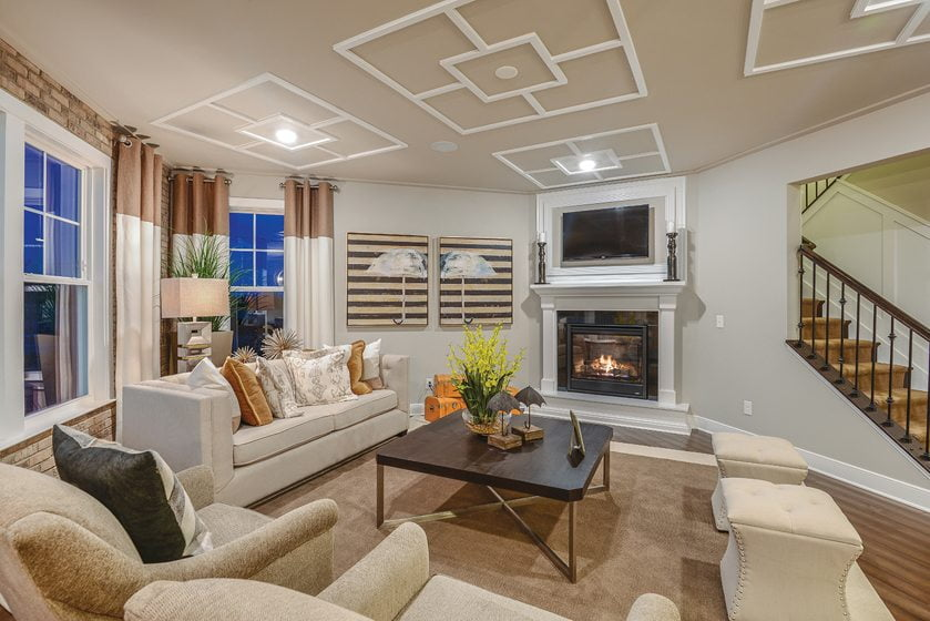 Design and Architecture, Detached Home (lots 7,000 square feet and over), $700,001 - $850,000:  St. Andrews at Rosedale, Aldie, Virginia; CalAtlantic Homes. © Gray Street Studios.
