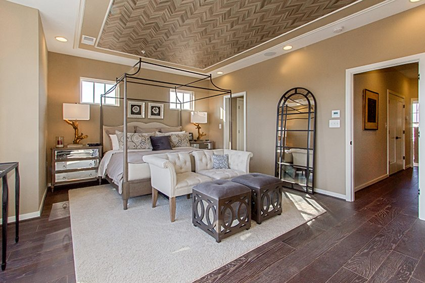 Design and Architecture, Attached Home, including Townhouses, Two-over-Twos, Back-to-Back Townhouses, Duplexes, Fee Simple and Condo-Ownership, $500,001 - $600,000: Rockland at Crescent Place, Leesburg, Virginia; Knutson Companies, Lessard Design. Photography: Studio Trejo.