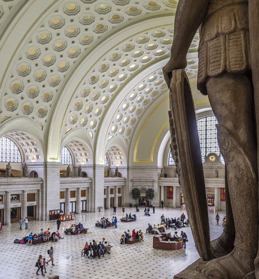 The Main Hall of Washington's Union Station