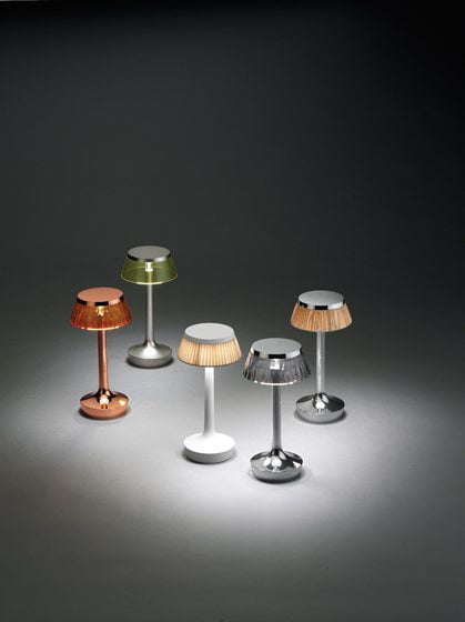 Bon Jour Unplugged, designed by Philippe Starck for FLOS.