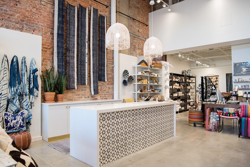 Salt & Sundry's spacious new 14th Street location stocks barware, ceramics, textiles and more.