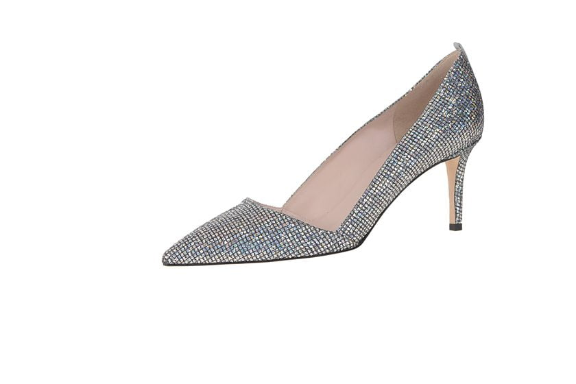 Rampling Scintillate pumps, available in the new SJP by Sarah Jessica Parker boutique at MGM National Harbor.