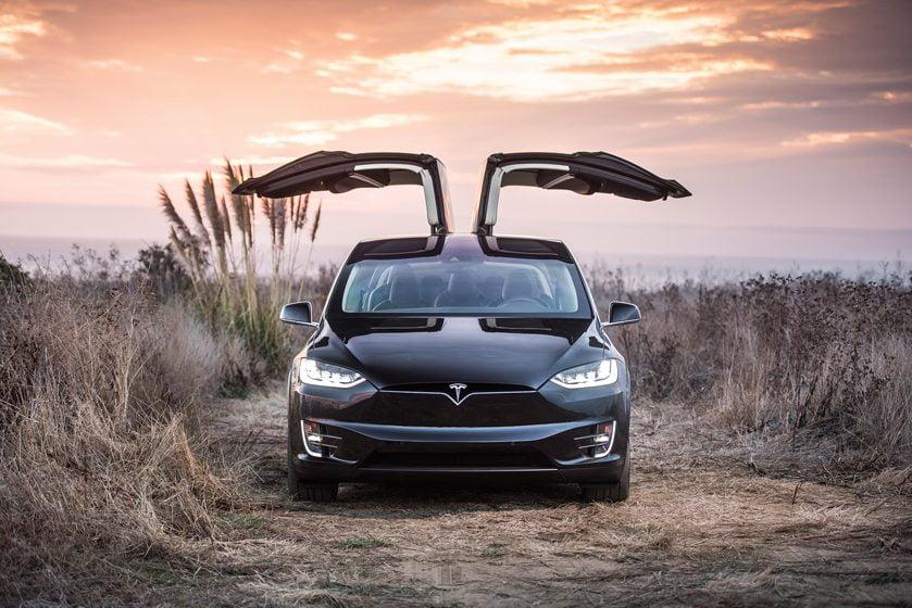 Tesla's new Model X SUV.