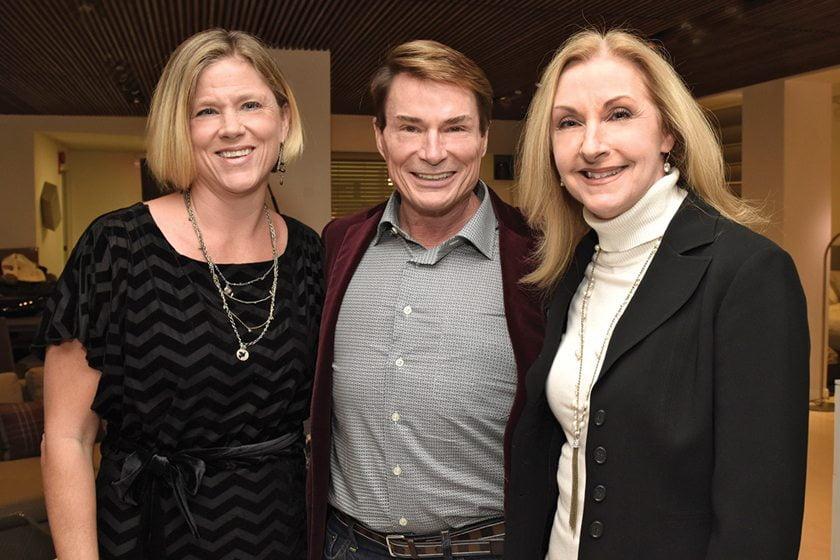 Karen Germond, Skip Sroka, Paula Grace Halewski.