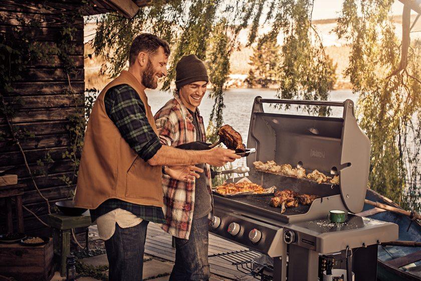 Weber's Genesis II gas grill.