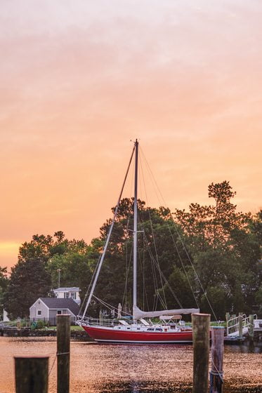 A weekend in Oxford would not be complete without a sunset sail. © Karena Dixon