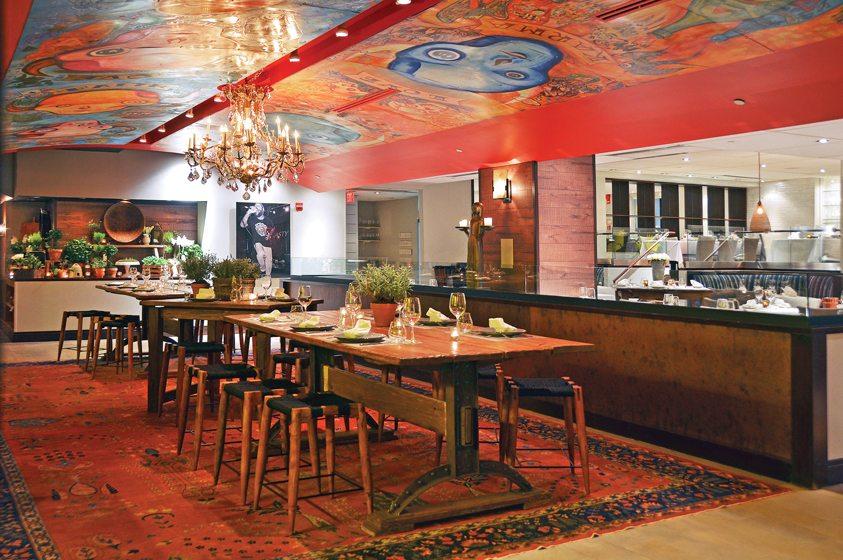 Honeysuckle restaurant. © Michelle Roberts