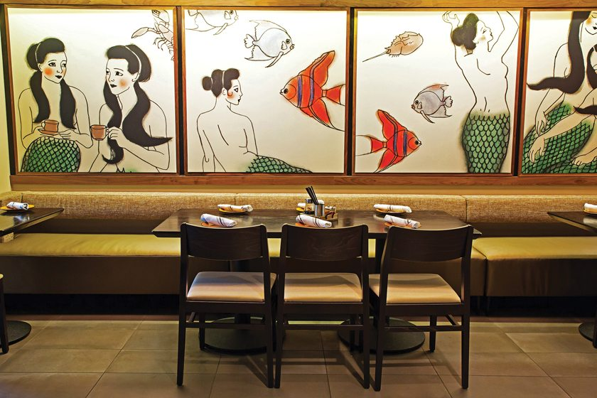 A private dining room in TenPenh. © Scott Suchman