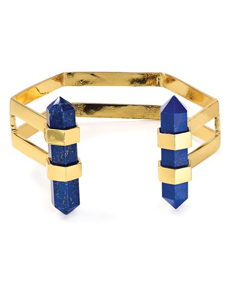 The Volu Lapis Cage Cuff.