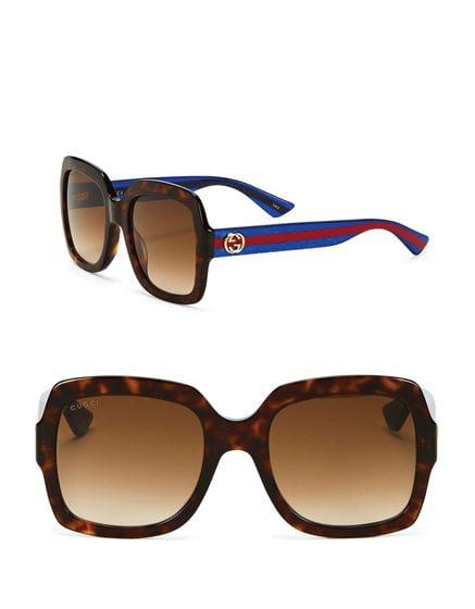 Gucci's Square Sunglasses.